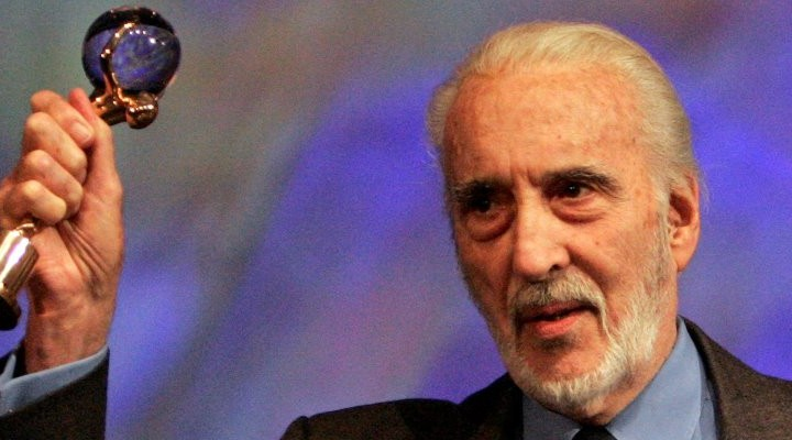 A la memoria de Christopher Lee